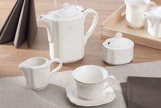 Klasyczna kawa w wyjątkowej oprawie ceramiki stołowej MANUFAKTURA CHODZIESKA ROMAN Serwis kawowy 39/12