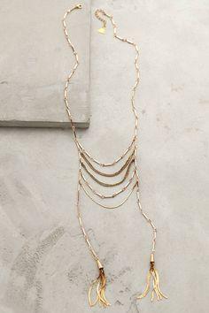 Tassel Blaze Necklace - anthropologie.com
