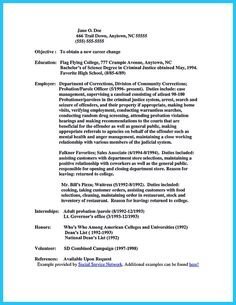 cool perfect correctional officer resume to get noticed resume