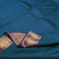 Sarangi Handwoven Kanjivaram Silk Sari - 460127619