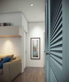 дизайн двухкомнатной квартиры 52 кв. м.