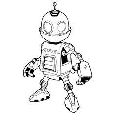 Emoji Characters, Graffiti Characters, Robot Cute, Robot Sketch, Robot Logo, Robots Drawing, Science Fiction, Robot Concept Art, Mascot Design