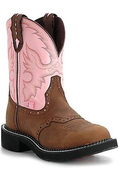 Justin Ladies Gypsy Collection Boots - Aged Brown