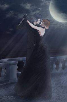 [CM] Moon dance by AridanBlack Anime Love Couple, Manga Couple, Cute Anime Couples, Ruki Mukami, Reiji Sakamaki, Mystic Messenger, Magic Anime, Diabolik Lovers Wallpaper, Diabolik Lovers Ayato