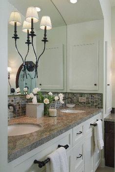 How-To DIY Article   11 Simple DIY Ways To Make Your Small Bathroom Look BIGGER   Image Source:Carla Aston
