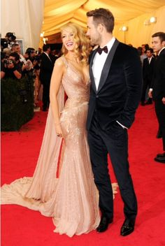 Blake Lively in Gucci- Met Gala