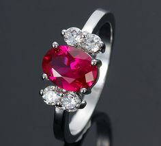 People have told their love with ruby jewelry. So, you can find a lot of antique ruby rings. In this photo gallery, wonderful ruby ring designs with you. Ruby rings are one of the more preferred ring.