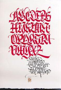 #LucaBarcelona #caligrafia #letter