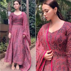 Party Outfit Casual Dress Classy Ideas For 2019 Anarkali Dress, Pakistani Dresses, Anarkali Suits, Indian Dresses, Lehenga, Indian Attire, Indian Outfits, Indian Wear, Indian Style