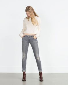 Image 1 of JEGGINGS from Zara
