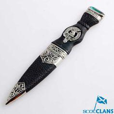 Clan Crest Sgian Dub