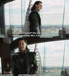 Loki, your Tom is showing