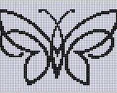 Butterfly 5 Cross Stitch Pattern