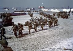 Juno Beach Canadian Reinforcements