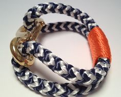 Made on the Coast of Maine, this nautical-inspired Buoy 6 bracelet fits comfortably around your wrist and is made from marine rope and hardware.    Will