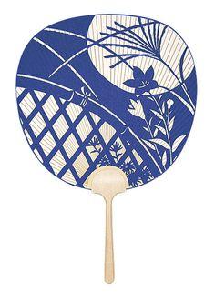 うちわ traditional Japanese fan