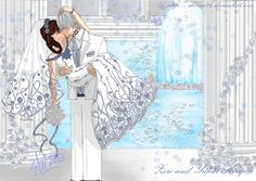 Vampire Knight || Zero & Yuki (fan art)