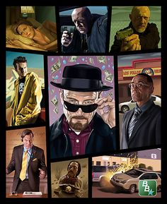 Breaking Bad Grand Theft Auto poster #TV #Gaming