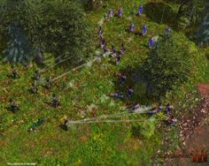 Napoleonic Skirmish A skirmish battle between soldiers of the Grande Armée and British Riflemen. Soldiers, Battle, British, Plants, Image, Plant, Planets