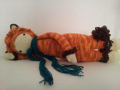 LONI the lion made by Katrin M. / crochet pattern by lalylala