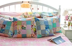 patchy pillows