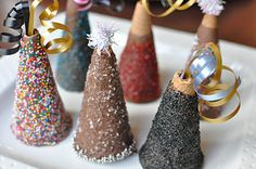 Chocolate Party Hats