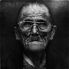 Black and White Portraits Of Homeless People