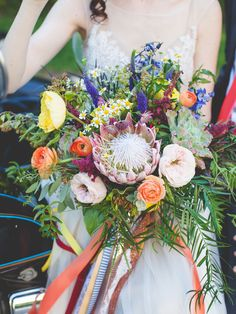 Colorful Bouquet. Photo by 3Photography