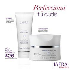 Refuerza tu rutina del cuidado de la piel con un dúo acondicionador – $26 por tiempo limitado. http://jafra.me/3cm3