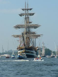Amsterdam., The Netherlands aka Holland. Sail. Tall ships etcetera.