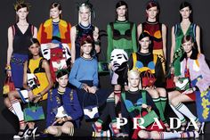 Prada (プラダ) ウィメンズの2014年春夏広告キャンペーンが公開。撮影はSteven Meisel (スティーヴン・マイゼル)  –  THE FASHION POST [ザ・ファッションポスト]