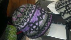 Celtic fair isle hat