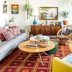 Talk about boho dream home!( by @designsponge)