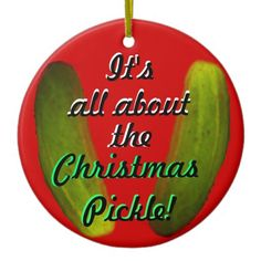 All about Christmas Pickle