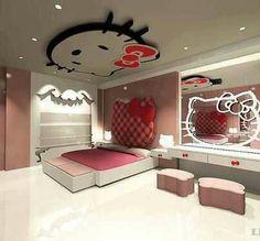 Beau Hello Kitty Bedroom Teenage Girl Bedroom Designs, Girls Bedroom, Bedroom  Ideas, Bedroom Decor