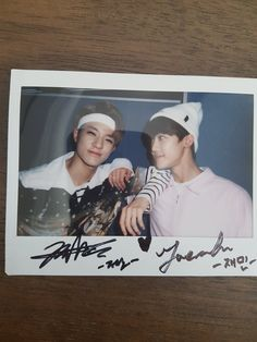 Jeno and Jaemin