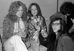 Lisa Robinson:  Robert Plant wore leopard, my jacket was from New York City's Chinatown, and Patti Smith guitarist Lenny Kaye wore glasses—at the Four Seaso...