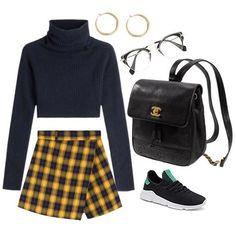 Outfits que tal vez te d Teen Fashion, Korean Fashion, Fashion Outfits, Womens Fashion, Spring Outfits, Trendy Outfits, Cute Outfits, Outfit Vintage, Looks Style