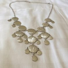 Silver Stitch Fix Statement Necklace 23% Off #5125351 - Jewelry ...