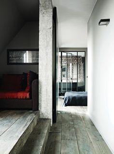 De grande lame de parquet agrandirons un espace confiné.  www.entreprise-cochet.fr