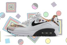 Liberty x Nike Air Max 90 (Summer 2015 Collection)
