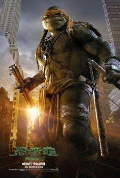 《忍者龜:變種時代 Ninja Turtles》真人版電影4主角演員出爐強打帥哥牌 攜性感女星梅根福克斯Megan Fox演出 2014年8月8日熱血上映 | GQ瀟灑男人網