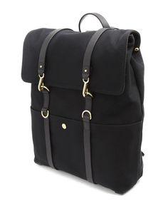 Bacpack Black Backpack, , large