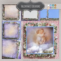 Valentinas Creations Blog » Blog Archive » My art Scrap Collection: 1.25 € per pack! And new Awesome Vintage/Fantasy Collection!!