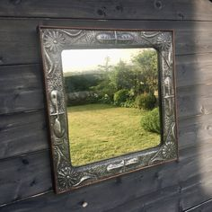 Antiques Atlas - Arts And Crafts English Pewter Mirror Mirrors For Sale, Pewter, Arts And Crafts, English, Antiques, Design, Style, Tin, Antiquities