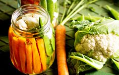 Pikkelöidyt itämaiset kasvikset / Pickled vegetables / Kotiliesi.fi / Kuva/Photo: Sampo Korhonen/Otavamedia