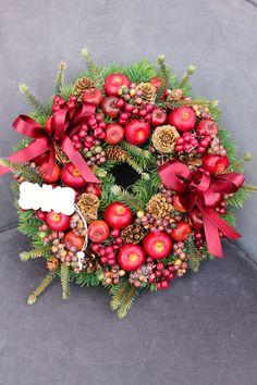 Christmas wreath. Zimowe wianki od tendom.pl.