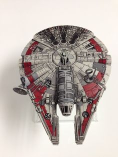 Modified YT-1300 - top view