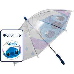 [Disney Stitch] ● vinyl PON Umbrella / 40cm safety Tehiraki umbrella ★ Rain goods ★ [Disneyzone]
