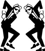 2Tone Ska Man Rude Boy Dancing